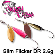 Crazy Fish Slim Flicker DR 2.6g