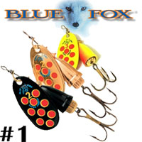 Blue Fox Vibrax Hot Pepper #1 (BFS1)