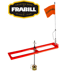 Frabill Arctic Fire Real Tip-Up Orange