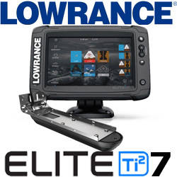 Lowrance Elite-7 Ti2 US Coastal, ROW Active Imaging 3-in-1 (000-14640-001)