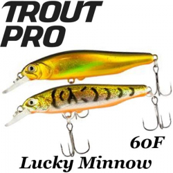 Trout Pro Lucky Minnow 60F