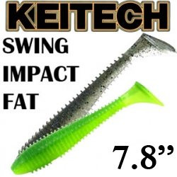 Keitech Swing Impact Fat 7.8""