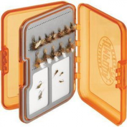 Metz Upg Fly Box Lg Orange 33021