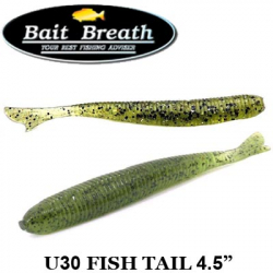 Bait Breath U30 Fish Tail 4.5""