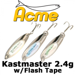 Acme Kastmaster w/Flash Tape 2.4гр.