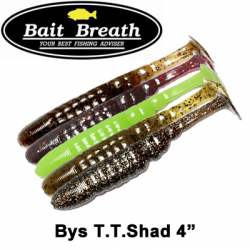 Bait Breath Bys T.T. Shad 4""