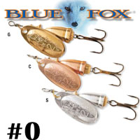 Blue Fox Vibrax Original #0 (BF0)