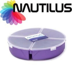 Nautilus Round Tackle Box