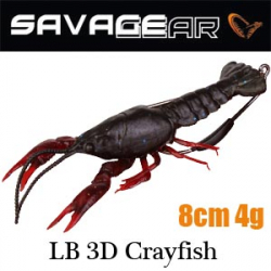 Savagear LB 3D Crayfish 8 4g F 4pcs