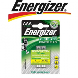 Energizer Power Plus NH12 700 BP2 Pre-Ch 1.2V