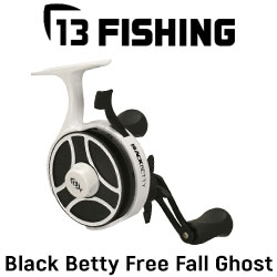 13 Fishing Black Betty Free Fall Ghost