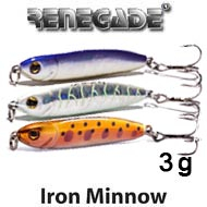 Renegade Iron Minnow 3g