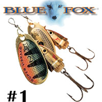 Blue Fox Vibrax Shad #1 (BFSD1)