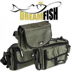 DreamFish Green Line Bag