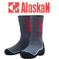 Alaskan grey/black