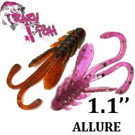 Crazy Fish Allure 1.1""