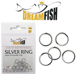 DreamFish Silver Ring