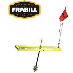 Frabill Arctic Fire Tip-Up Ready to Fish