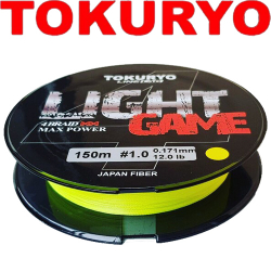 Tokuryo Light Game X4 Yellow PE 150m