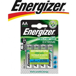 Energizer Extreme NH15/AA 2300 BP4 Pre-Ch 1.2V