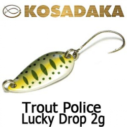 Kosadaka Trout Police Lucky Drop 2g.