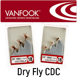 Vanfook Dry Fly CDC