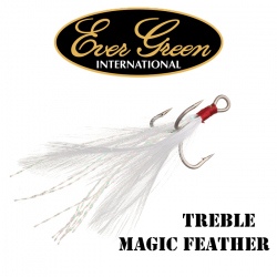 Ever Green Treble Magic Feather