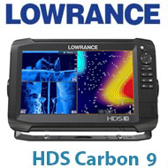 Lowrance HDS-9 Carbon ROW No Transducer