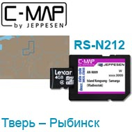 Карта C-MAP Lowrance RS-N212