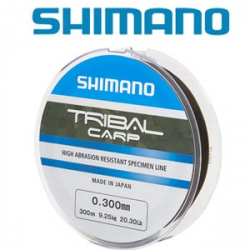 Shimano Tribal Carp 300м Low Visible Green Brown