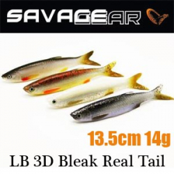 Savagear LB 3D Bleak Real Tail 13.5 14g 4pcs