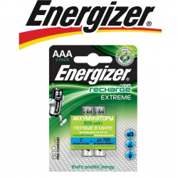 Energizer Extreme NH12/AAA 800 BP2 Pre-Ch 1.2V
