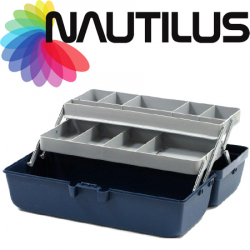 Nautilus 118-2 Tackle Box 2-tray