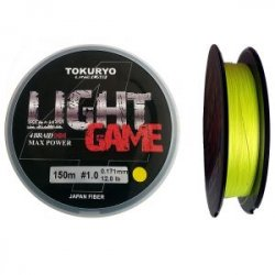 Шнур Tokuryo Light Game X4 Yellow 3.0 PE 150m