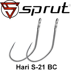 Sprut Hari S-21 BC (Single Bait Hook)