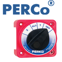 АКБ Perko Fig. 8511 Compact Battery Selector Switch