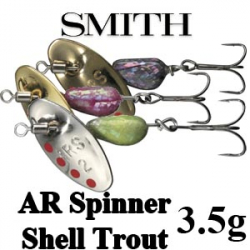Smith AR Spinner Shell Trout Model 3,5гр.