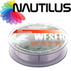 Nautilus Weser Fluorocarbon Clear 50м