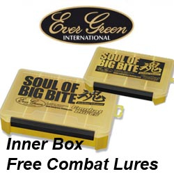 EverGreen Inner Box Free Combat Lures