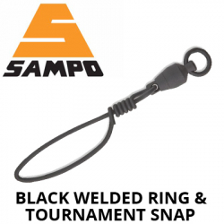 Sampo Black Welded Ring And Tournament Snap