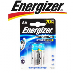 Energizer Maximum LR6/E91 AA 1.5V 2шт