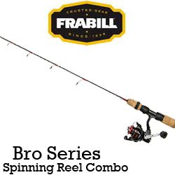 Frabill Bro Series Spinning Reel Combo (удочка + катушка)