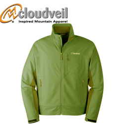 Cloudveil Inertia Peak Jacket Bud Green