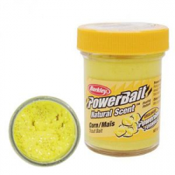 Паста Berkley PowerBait Natural Scent Trout Bait 50 gr Corn Glitter (1152857)