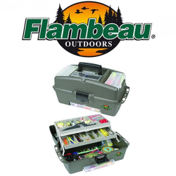 Flambeau 2059 Tackle System Hip Roof Box