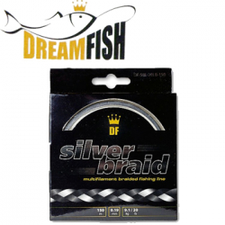 DreamFish Silver Braid 150м