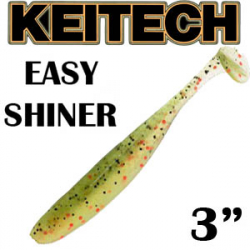 Keitech Easy Shiner 3""
