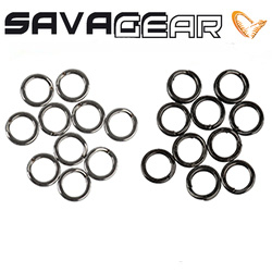 Savage Gear Stainless Splitring Mix Forged