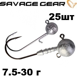Savage Gear Ball Jig Heads набор