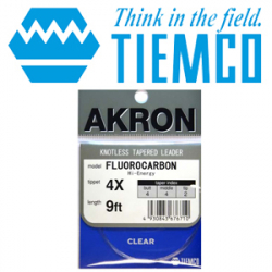 TMC Akron Fluoro Leader Hi-Energy 9ft